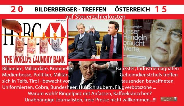 Bilderberger Treffen Österreich 2015