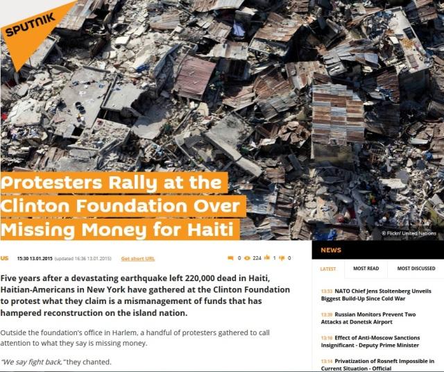 Clinton Foundation Haiti Funds Missing