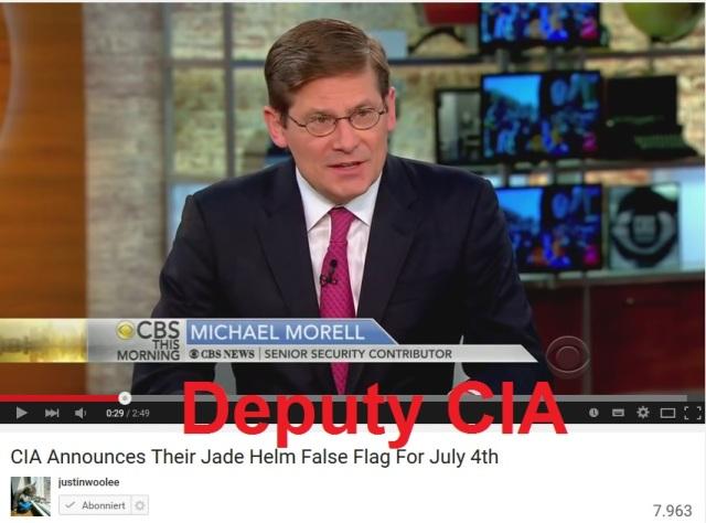 Deputy CIA Michael Morell