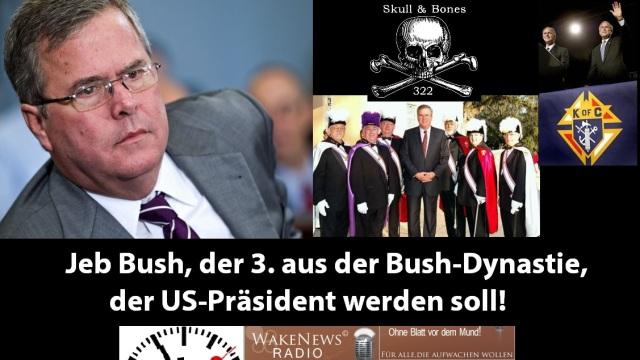 Jeb Bush Skull + Bones, KoC