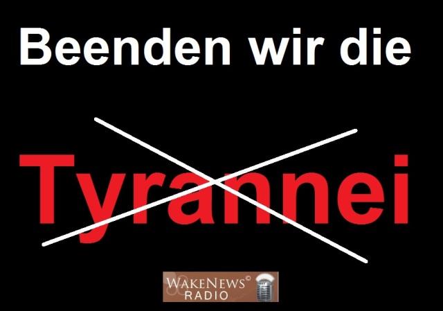 Beenden wir die Tyrannei