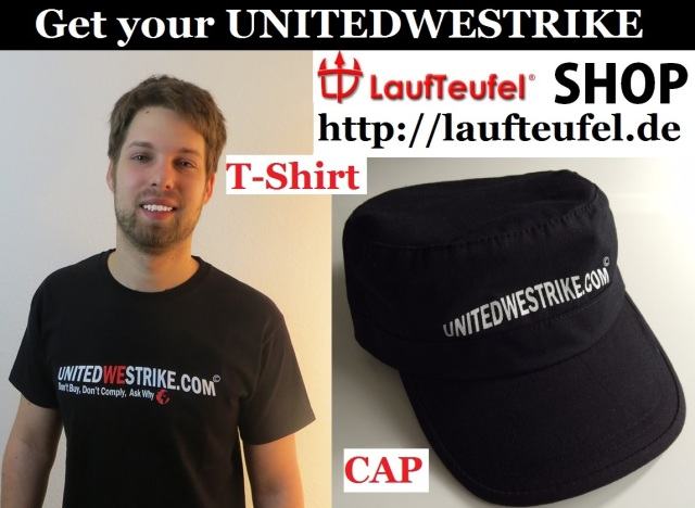 Get your UNITEDWESTRIKE T-Shirt + Cap