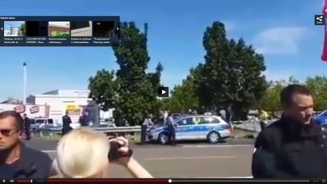 Du hässliche Votze - Heidenau Protest