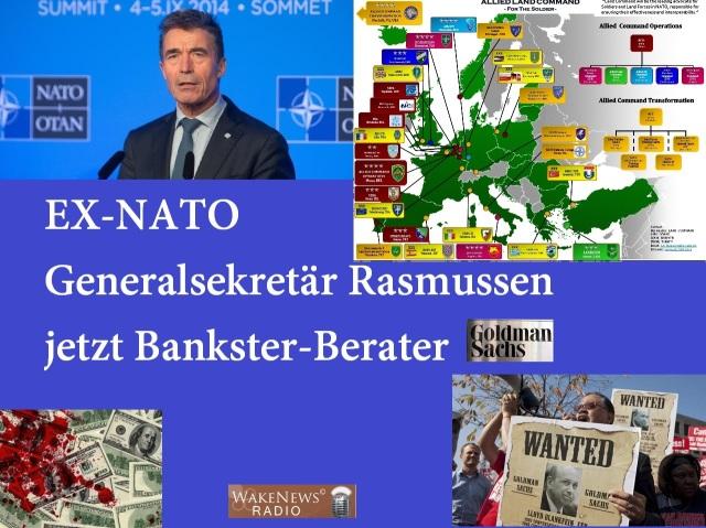 Ex-NATO-Generalsekretär Rasmussen jetzt Bankster-Berater