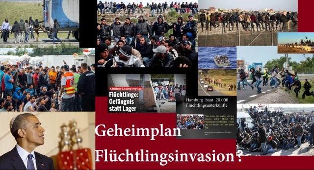 Geheimplan Flüchtlingsinvasion