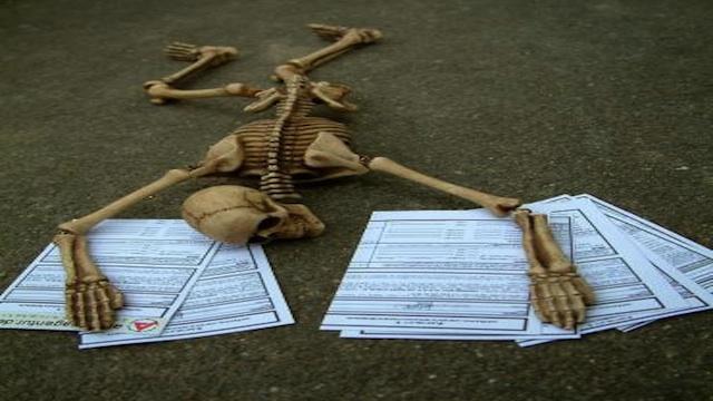 Hartz4-Skelett