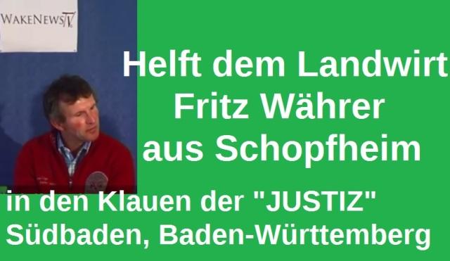 Helft dem Landwirt Fritz Währer aus Schopfheim