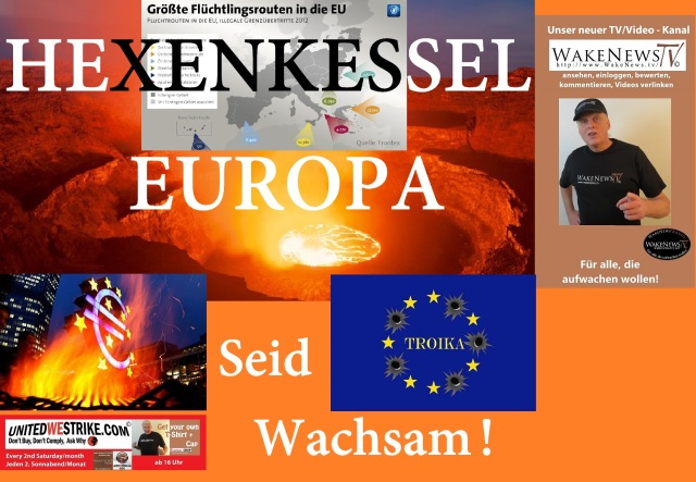 Hexenkessel Europa - Seid Wachsam - UWS Radio-Marathon 20150808