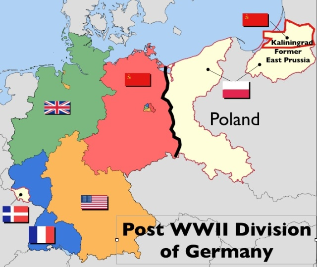 Post-WWII-Division-of-Germany