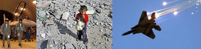 Stolze Kampfpiloten morden Zivilisten
