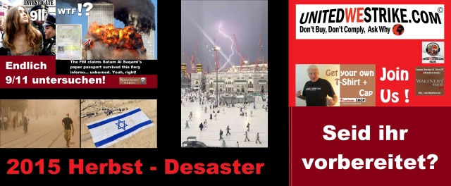 2015 Herbst Desaster - Seid ihr vorbereitet UWS Radio Marathon 20150912
