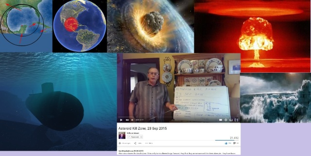 Asteroid Kill Zone - US Nuke In Gulf Of Mexico September 23, 2015