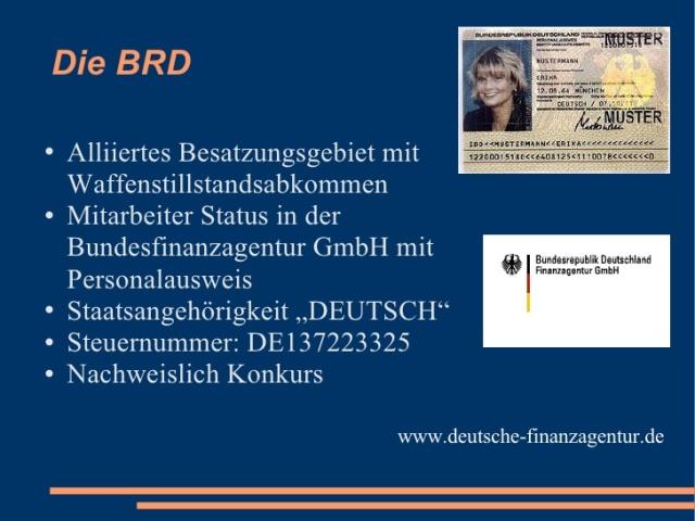 BRD - Besatzungsgebiet