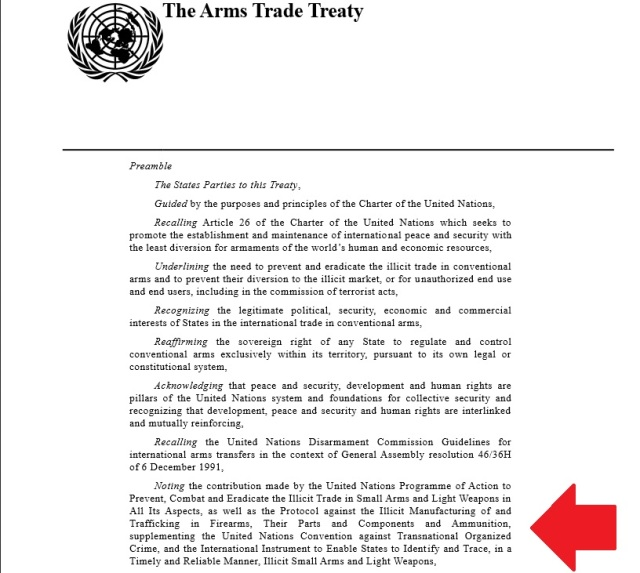 UN Arms Trade Treaty