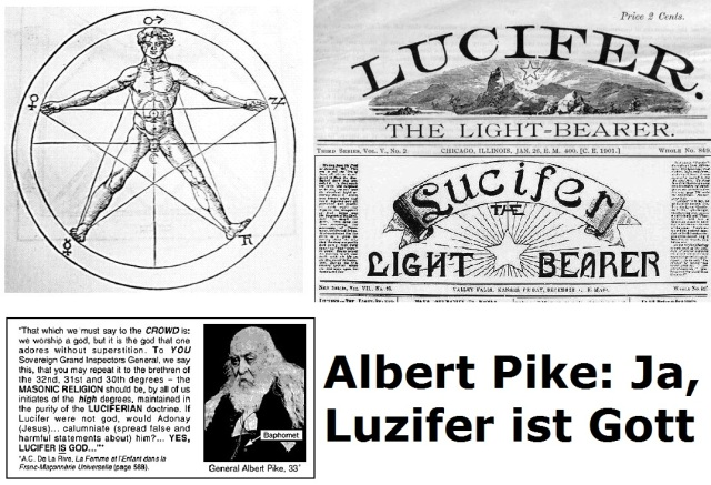 Albert Pike - Ja, Luzifer ist Gott
