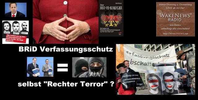 BRiD Bund Verfassungsschutz n= NSU