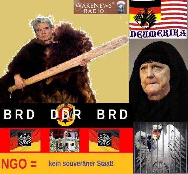 Bundes-Keulenmann und Bundeshexe