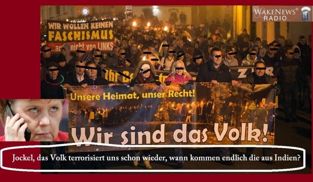Das Volk ist der Terrorist
