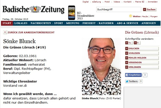 Diplom Rechtspfleger Sönke Blunck AG LÖ Pressesprecher