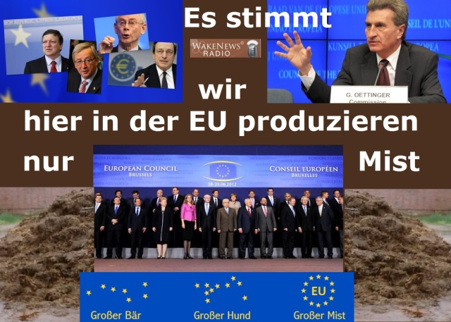 EU - es stimmt, wir hier in der EU produzieren nur Mist