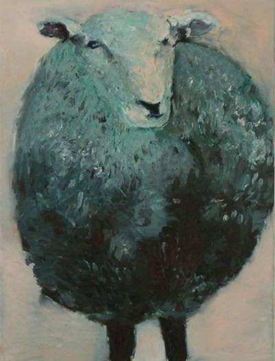 kattler-vera-tierbilder-schaf-02-oel-auf-baumwolle-80x60cm-2004
