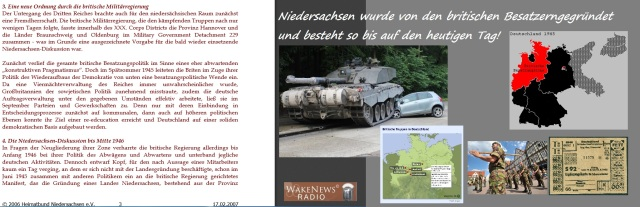 Niedersachsen ist von britischen Besatzern gegründet worden - so ist es bis zum heutigen Tag