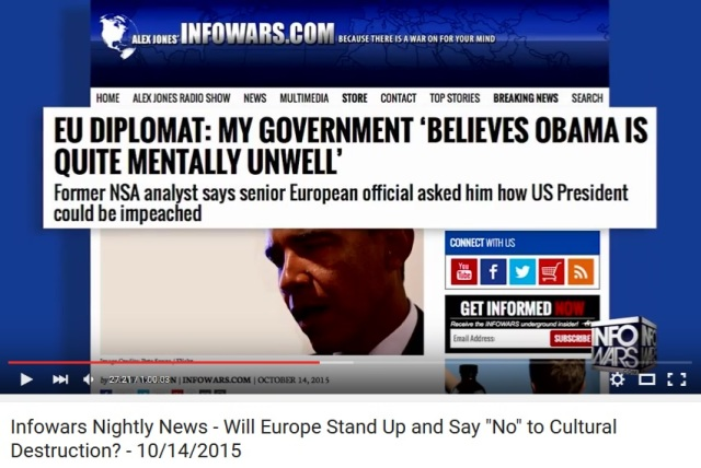 Obama mentally ill