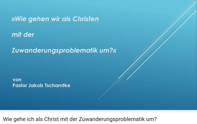 Screenshot Video Pastor Jakob Tscharntke