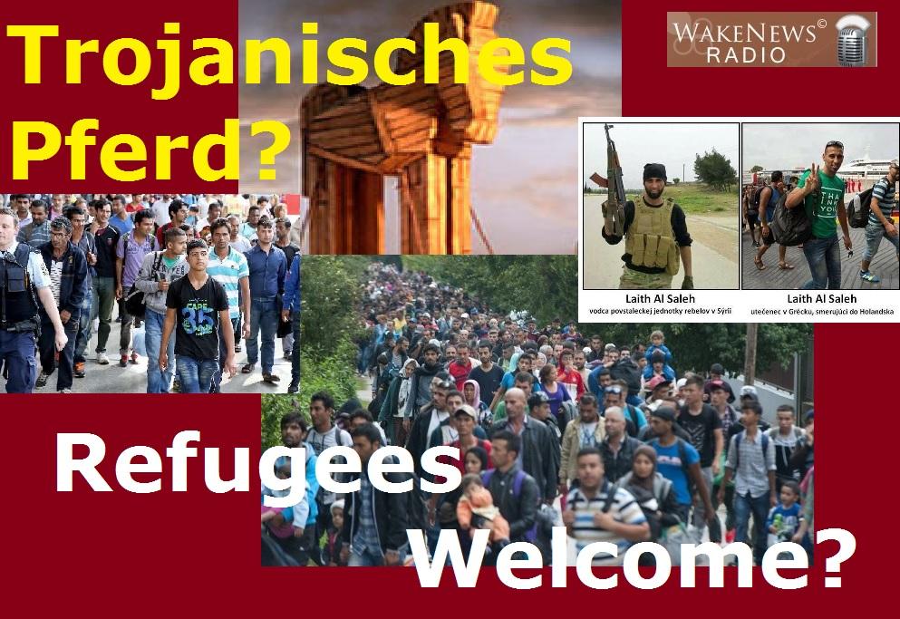 Trojanische Pferd - Refugees Welcome