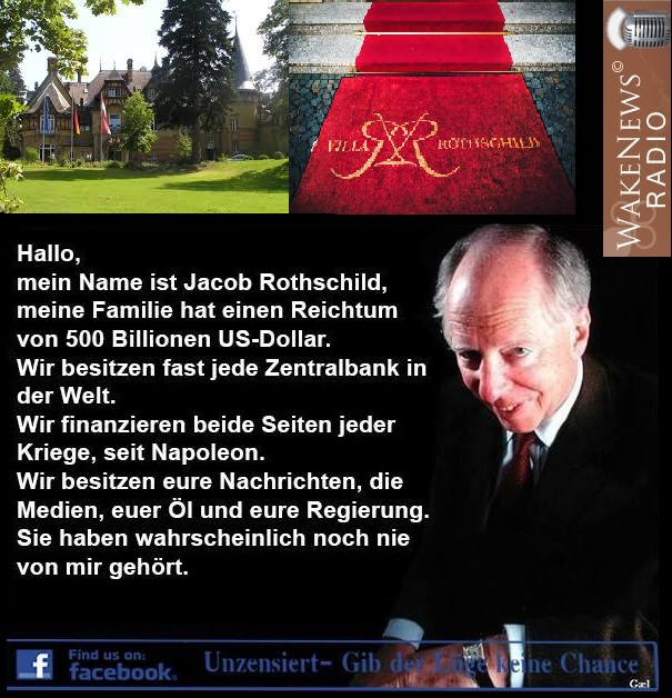 Villa Rothschild Königstein Taunus bei Frankfurt - Wiege der Besatzer BRD