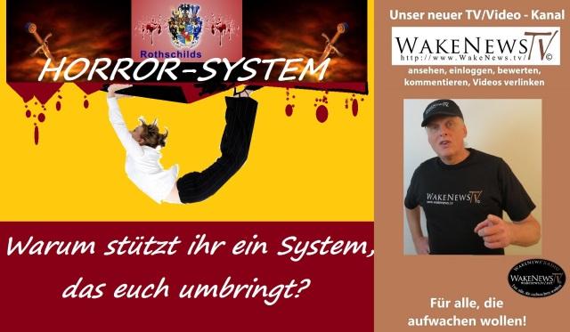 Warum stützt ihr ein System, das euch umbringt