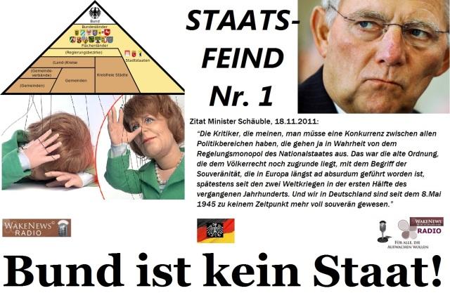 Bund ist kein Staat