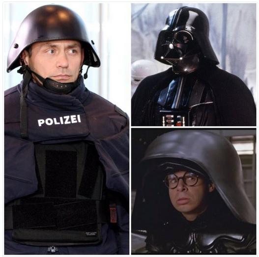 Darth Vader - Bayern POLIZEI-Kostüme