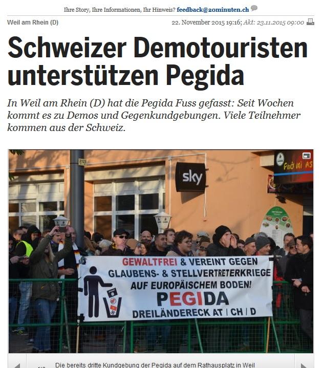 Demo Weil am Rhein