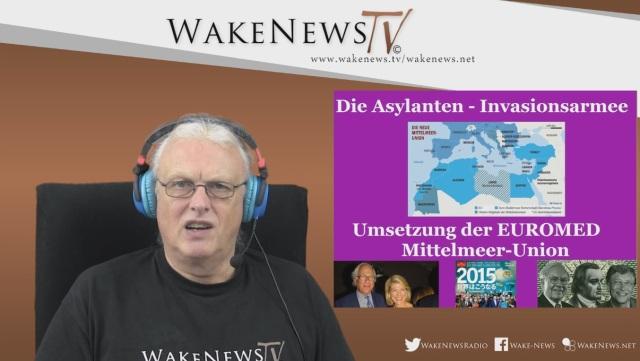 Die Asylanten-Invasionsarmee - Umsetzung der EUROMED Mittelmeer-Union