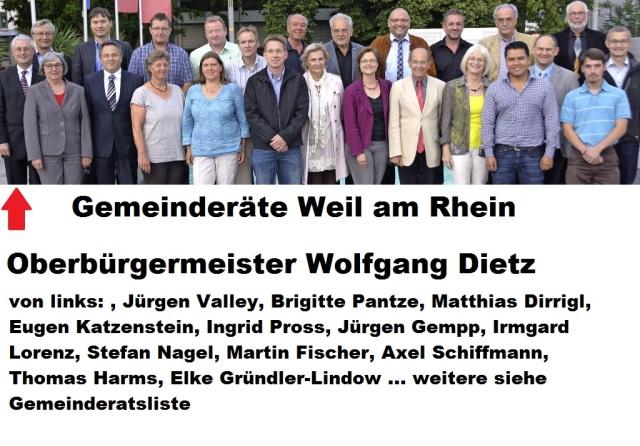 Gemeinderäte Weil am Rhein