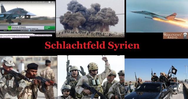 Schlachtfeld Syrien