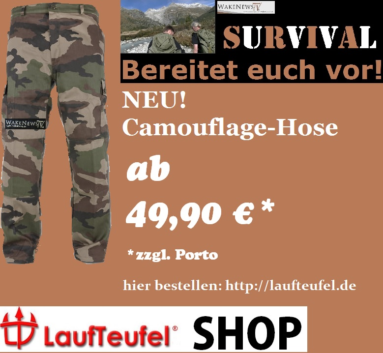 Wake News Camouflage Hose