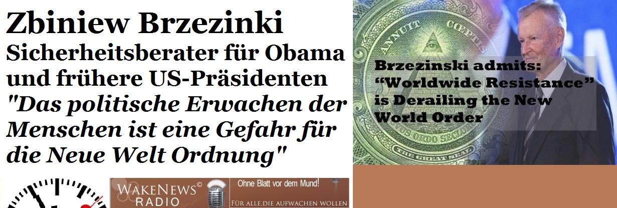 Zbingniew Brzezinski - Das politische Erwachen der Menschen ist eine Gefahr für die NWO