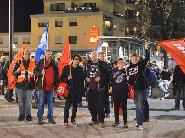Linke, AntiFa, SPD Lörrach