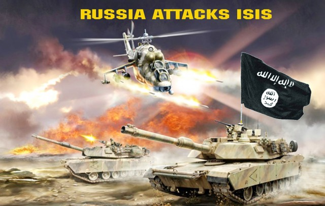 Russia Attacks Isis