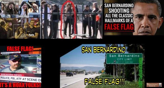 San Bernadino False Flag Details