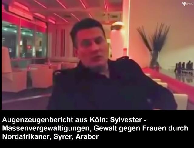 Augenzeugenbericht Köln Massenvergewaltigungen
