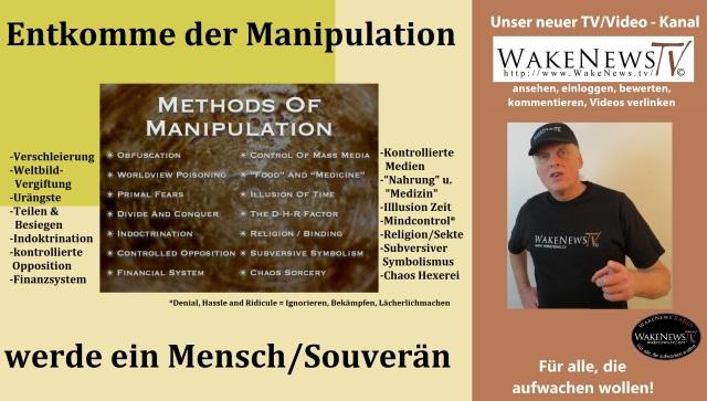 Entkomme der Manipulation - werde ein Mensch Souverän