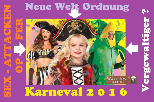 Karneval 2016 - Neue Welt Ordnung