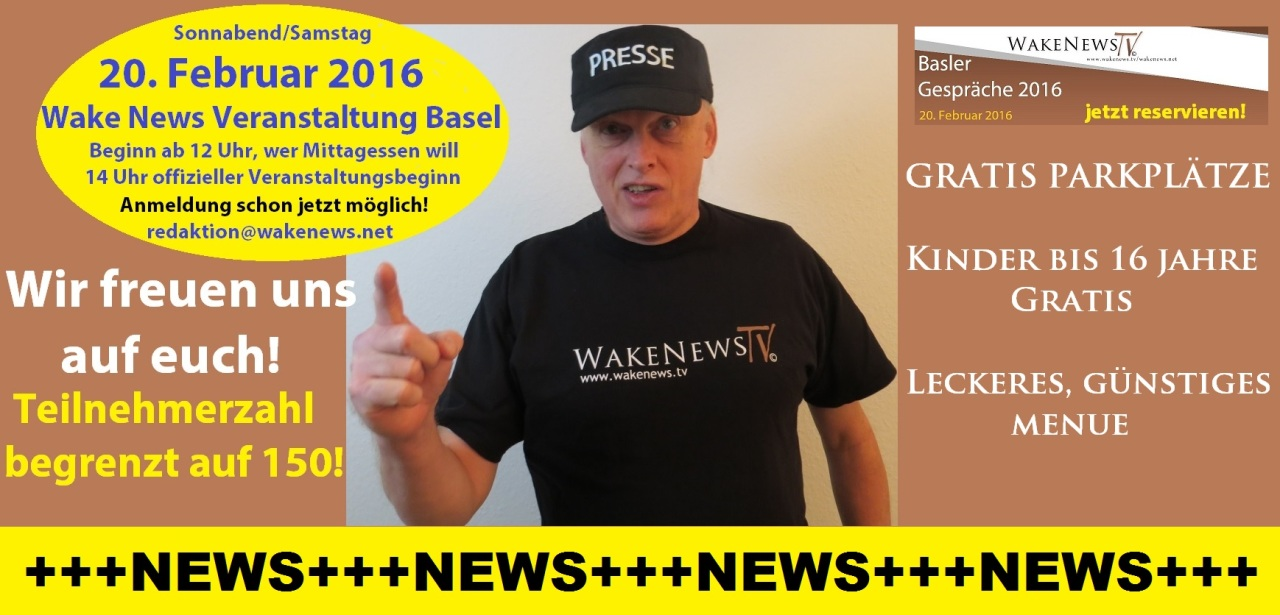 Neuigkeiten zur Veranstaltung Wake News Basler Gespräche 2016