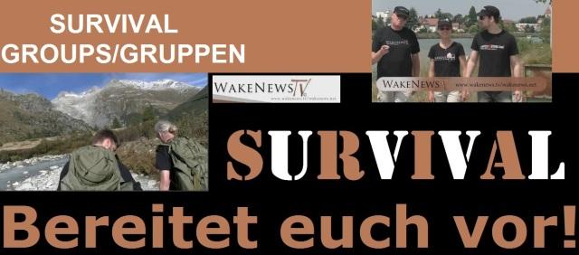Wake News SURVIVAL Groups-Gruppen