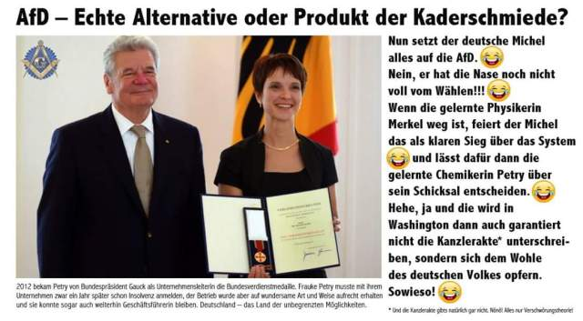 Gauck + Petry