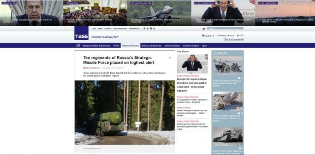 Tass Strategic Russian Missile Force
