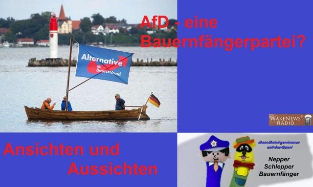 AfD eine Bauernfänger-Partei